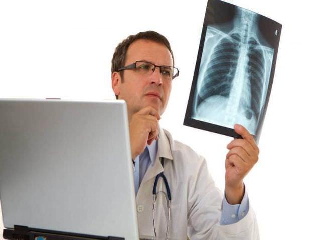 Снимок дыхательных путей