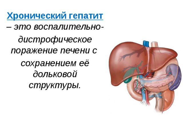 гепатит печень