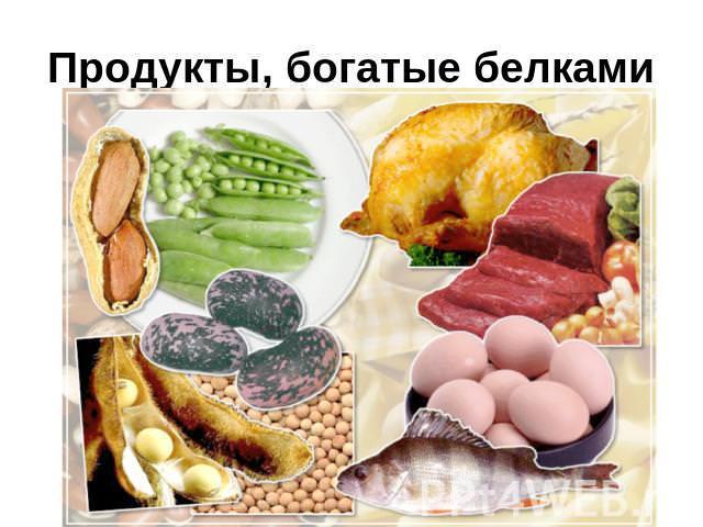 соотношение между белками