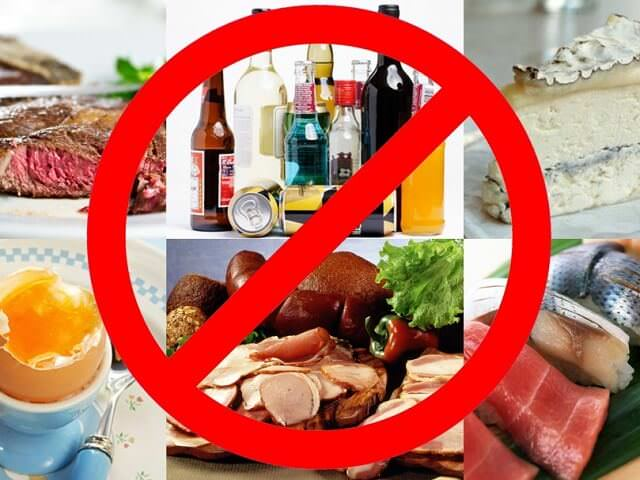 Запрещено употреблять жирную пищу перед диагностикой